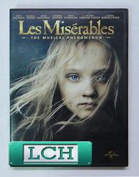◆LCH◆正版DVD《悲慘世界》-休傑克曼*安海瑟薇、羅素克洛、亞曼達賽芙莉-(買三項商品免運費)