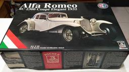 《 POCHER 絕版逸品 》 1/8 Alfa Romeo 8C 2300 Coupe Elegant 1932