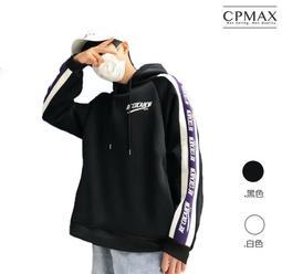 CPMAX 韓系嘻哈高磅連帽T恤 高磅數連帽T 連帽上衣 嘻哈連帽上衣 長袖T恤 大學T恤 男連帽T 長袖T恤 T111