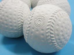 ~優購 館~ 製C 型海綿球軟棒球軟式棒球練習球一包12 個入定40 安全棒球群銘