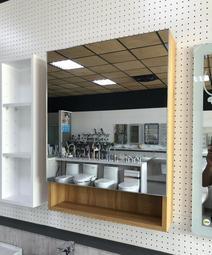 【歡迎客製】台灣製造 實心發泡板 正304不鏽鋼緩衝絞鍊 浴室 鏡櫃 化妝鏡櫃