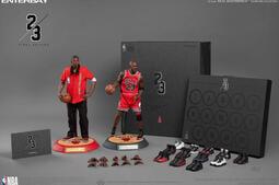 Enterbay Jordan NBA 公牛隊 終極版 1/6 客場 麥可喬丹 籃球之神 全球限量
