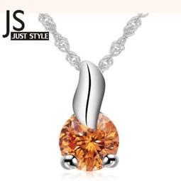 項鏈~JS 糖包尚衣~ 明星同款 圓形鋯石鎖骨鏈配飾項鏈頸鏈配飾 飾品情人節生日B01D0