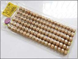 【雅之賞|佛教|藏傳文物】特賣* 海南天然9*7mm星月菩提A+++正月高密108顆桶珠 實物拍攝~200457