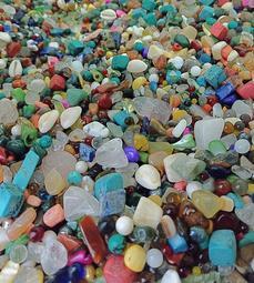 佛教七寶混搭各種優質彩色(珍珠、珊瑚、瑪瑙、水晶、琉璃、寶石、玉石)