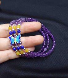 【發發開運坊】三和開運紫水晶手鍊一串 (4mm)~ 招貴人 招人緣 《淨化》