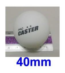 愛批發【一年保】CASTER TT-6 白色 乒乓球 桌球 1入 40MM 摸彩球 樂透球 射擊靶 塑膠球 比賽球