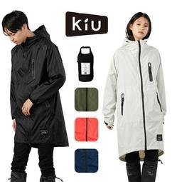 ˙TOMATO生活雜鋪˙日本進口雜貨人氣KIU經典款修身超輕量雨衣 附手提收納袋 男女兼用(預購)