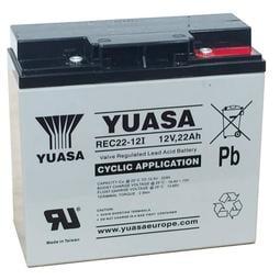 電池院長 宅配 湯淺 YUASA REC22-12I 12V 22AH REC 22-12 UPS不斷電系統 電動車電池