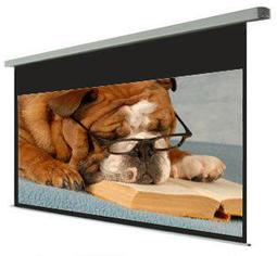 KAMAS 卡瑪斯電動布幕100 吋16 9 玻纖幕布席白軸心電動投影機銀幕家庭劇院 ~含