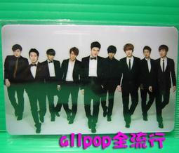 ★allpop★ Super Junior  [ 精美 卡貼 ] 團體 C款 現貨 絕版 韓國進口 萬用貼 悠遊卡貼