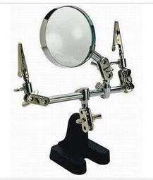 【TNA168賣場】萬向精密電子焊接台  小巧精緻機械手放大鏡(帶支架)