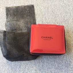 香 櫃檯會員禮品 2018年 正紅色漆皮方形小收納包/化妝包/口紅包