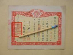 文獻史料館*民國56年台北市第7信用合作社股票(已失效.純收藏)(k362-19)