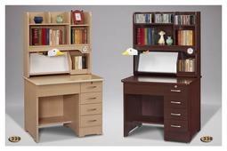 【全台傢俱批發】BB 胡桃/白楓木 3尺 書桌 台灣製造 傢俱工廠特賣