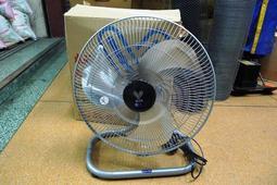 附發票*東北五金*高品質 崴而鋼超強力 工業電扇 工業電風扇 F-718 座地扇 150W 18吋 優惠特價中!