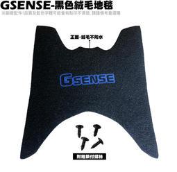 GSENSE-黑色絨毛地毯【SR25KA、SR25KC、NOODOE、地墊、腳踏墊、補漆筆】