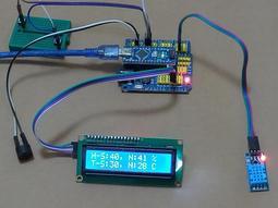 【3dg】arduino警報器 DHT11 LCD1602 溫溼度感測器 蜂鳴器 DIY套件 現貨含稅開發票