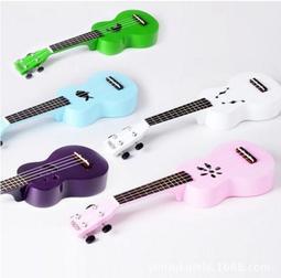 【兩款九色】ukulele 夏威夷小吉他 ALOHA烏克麗麗 四弦21寸椴木 彩琴