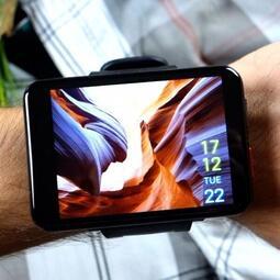 🏆【超大屏幕】LEMFO LEMT 4G防水智慧手錶 2.8英寸2700mah 500萬畫素GPS智能電話手錶