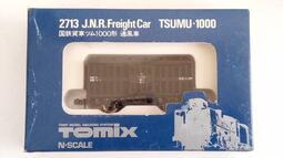 [中古良品] Tomix 2713 国鉄貨車 TSUMU-1000 通風車