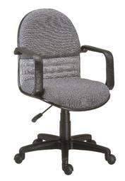 【南洋風休閒傢俱】時尚造型辦公椅系列-氣壓扶手中轉椅 JX288-10