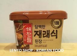 韓食團購優惠 韓國希杰 CJ 韓式味噌醬  大醬  味増醬  500g