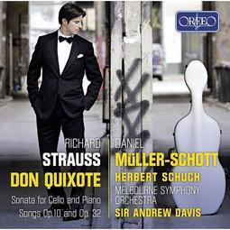 理查‧史特勞斯 : (唐吉軻德)與大提琴作品集 / 丹尼爾繆勒修特 ---C968191