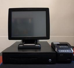 二手POS機/電子錢櫃/出單機 1組/含POS軟體 (含建檔教育訓練/硬體過保固) 每組都不一樣,請看內容