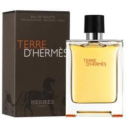 【免運特價】Hermes Terre D'Hermes 愛馬仕 大地 男性淡香水 50ML另有100ML