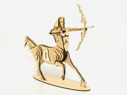 雷雕木質 立體3D拼圖DIY模型 擺飾 禮品 裝飾 射手座 半人馬