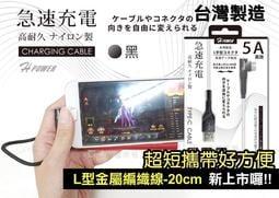 三星Galaxy A31 (SM-A315G) 《台灣製造 Type-C 5A 手遊彎頭L型 快速高速充電線傳輸線》