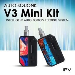 億海Yihi Ipv V3 Mini kit 含30ML果汁小煙主機小菸主機電 子菸電 子煙油小菸油丁鹽【A133】