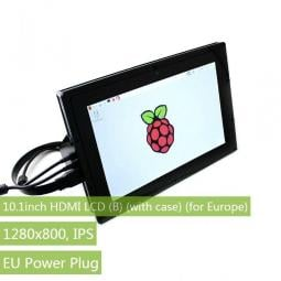 Waveshare 10.1inch HDMI LCD B 1280×800 IPS Touch Screen Supports Windows10/8.1/8