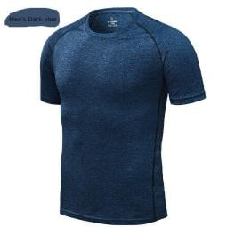 UPF 50+ UV Sun Protection Outdoor Short Sleeve Performance T-Shirt Quick drying