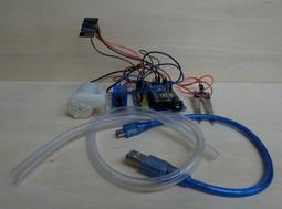 【3dg】現貨arduino+esp8266自動澆花澆水 上傳雲端紀錄 DIY套件 水泵 土壤濕度檢測【含稅開發票】