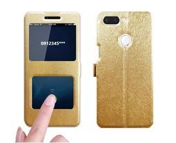 【免翻蓋接聽】雙開窗 OPPO R15  R15 Pro 手機套 支架 磁扣 保護套 皮套 手機殼 保護殼