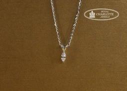 天然鑽石馬眼形墜子 (0.11ct)  P1501402