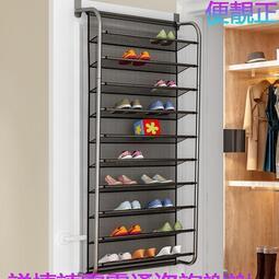 索爾諾門後鞋架多層簡易家用經濟型鞋櫃壁掛式宿舍小鞋架子省空間ray  夢傢