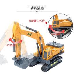 創意精品日系擺件公仔 裝飾 模型 汽車挖機玩具車仿真挖土機小汽