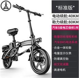 免運!!洛克新國標折疊電動自行車《80至300公里版》多模式,電動,半助力,腳踏車