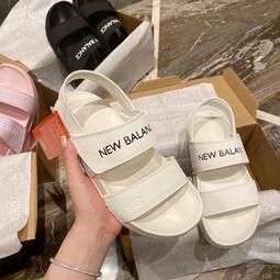 夏季新品 新百倫 New Balance x Noritake聯名款NB女鞋涼鞋 有香芋紫、黑色、奶白色、淺粉色四個顏色