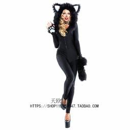 現貨尾牙服裝 尾牙服裝 cosplay迪斯尼米奇裝米妮裝 貓女郎演出服
