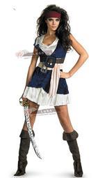 現貨尾牙服裝化裝舞會cos加勒比女海盜 成人海盜杰克船長演出服飾