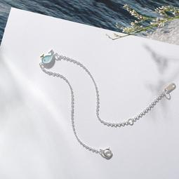 手鏈 小鯨魚手鍊女 韓版簡約愛情信物