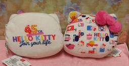 三麗鷗正版 KT45週年頭型Q彈包 零錢包 Hello kitty絨毛零錢包 6英吋